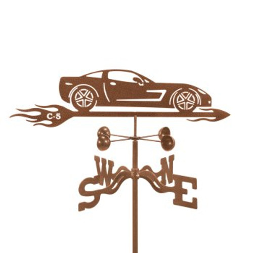 Car-Corvette C5 Weathervane With Mount