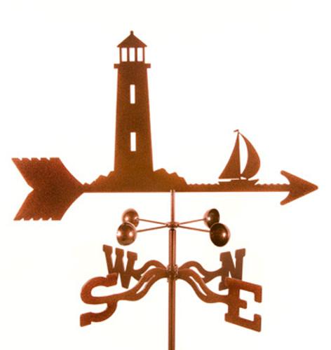 Lighthouse Weathervane With Mount