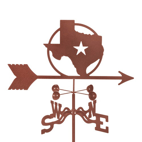 Texas Star Weathervane With Mount
