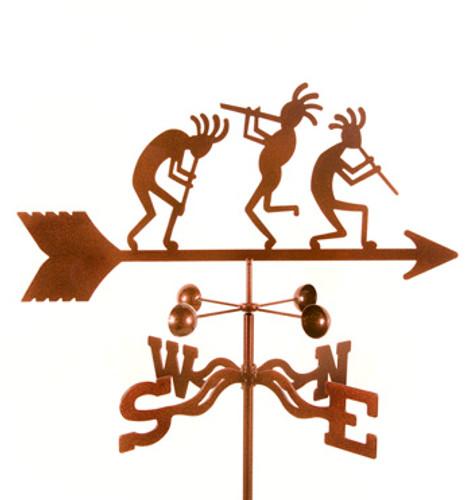 Kokopelli Weathervane With Mount