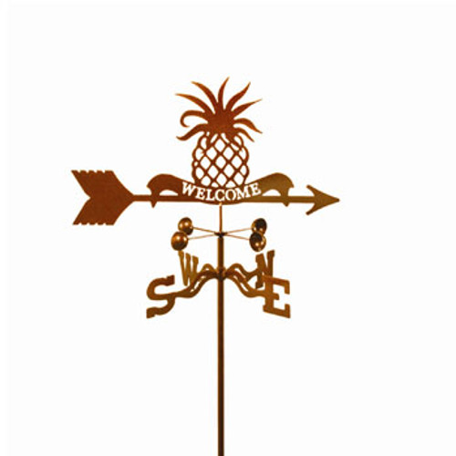Pineapple Welcome Weathervane With Mount