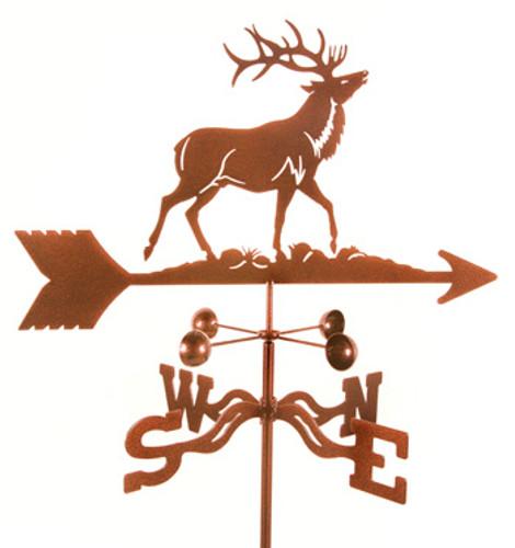 Elk Weathervane With Mount