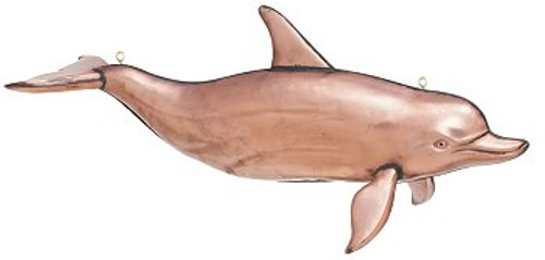 Polished 3-D Hanging Large Dolphin