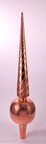 Finial - Large Venetian- Copper