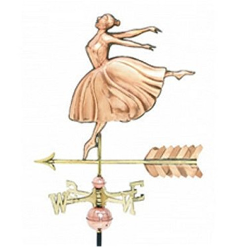 Weathervane - Polished - Cottage Dancer