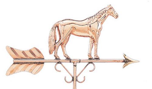 Weathervane - Polished - Cottage Horse