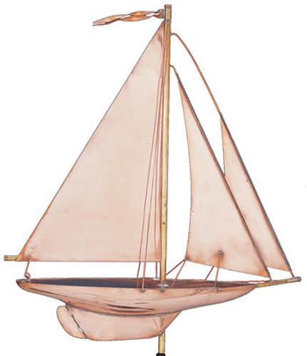 Weathervane - Polished Sailing Yacht