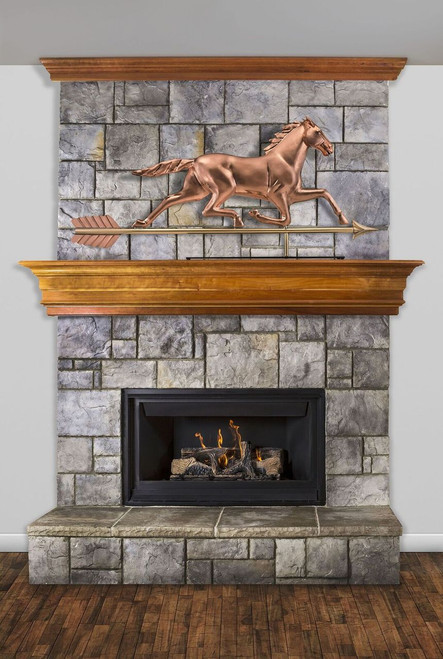 Large Horse Mantel Weathervane