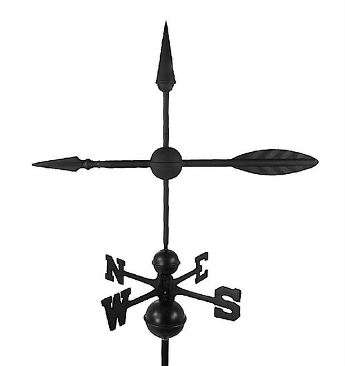 Arrow Large Black Aluminum with Traditional Directionals