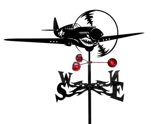 Airplane Taildragger Weathervane