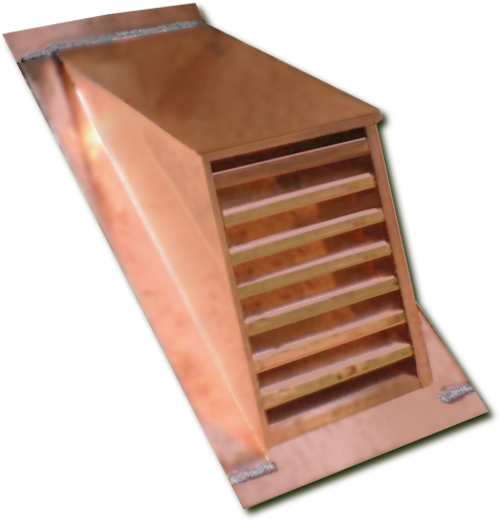 Copper Roof Vents And Dormers