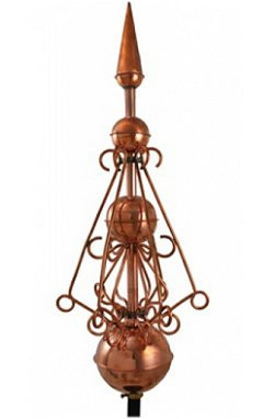 Finial Victoria Polished