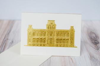 Gold Palace Notecard