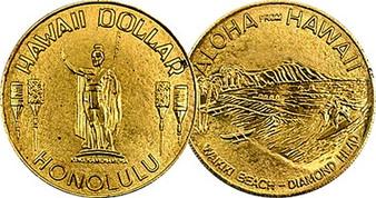 Kamehameha the Great Hawaii Dollar - HISC