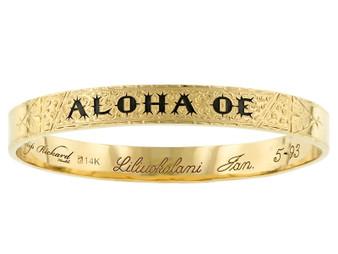 Aloha Oe Bangle