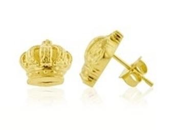 Puff Crown Earrings