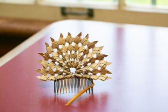 Lauhala Fan Comb