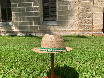 Lauhala Hat by Naomi Nasciemento