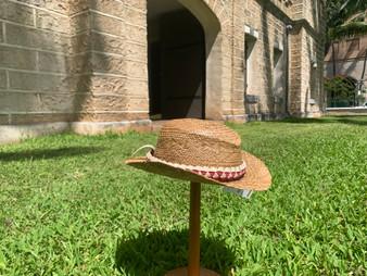 Lauhala Hat by Mayo Chinn