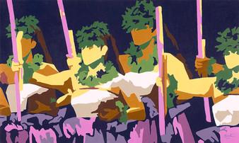 Kahiko Wahine 16x10 Giclee