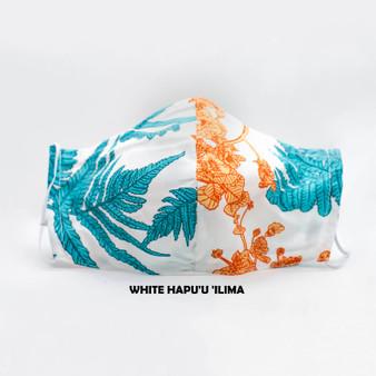 Hawaiian Print Designer Face Masks