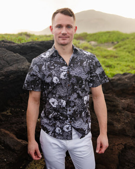 Puakala Chiaroscuro Aloha Shirt