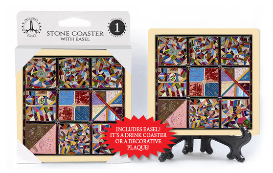 Stone Coaster With Easel
