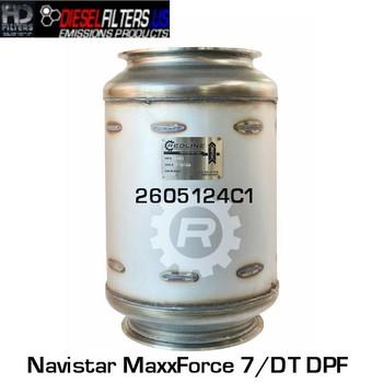 2605124C1 Navistar MaxxForce 7/DT DPF (RED 52982)