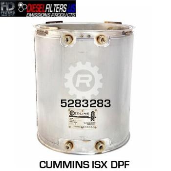 5283283 Cummins ISX DPF (RED 52984)