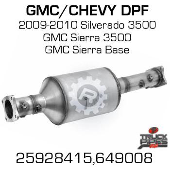 25928415 Chevrolet/GMC 3500 HD DPF (RED 46808)