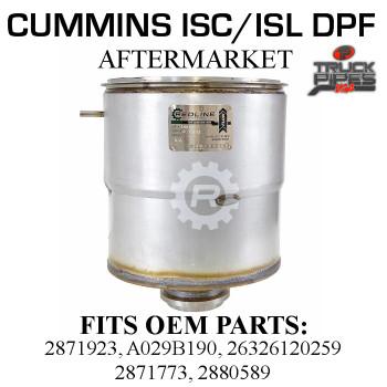 26326120259 Cummins ISC/ISL Diesel Particulate Filter 58811