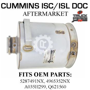 Q621560 Cummins ISC/ISL Diesel Oxidation Catalyst 58816