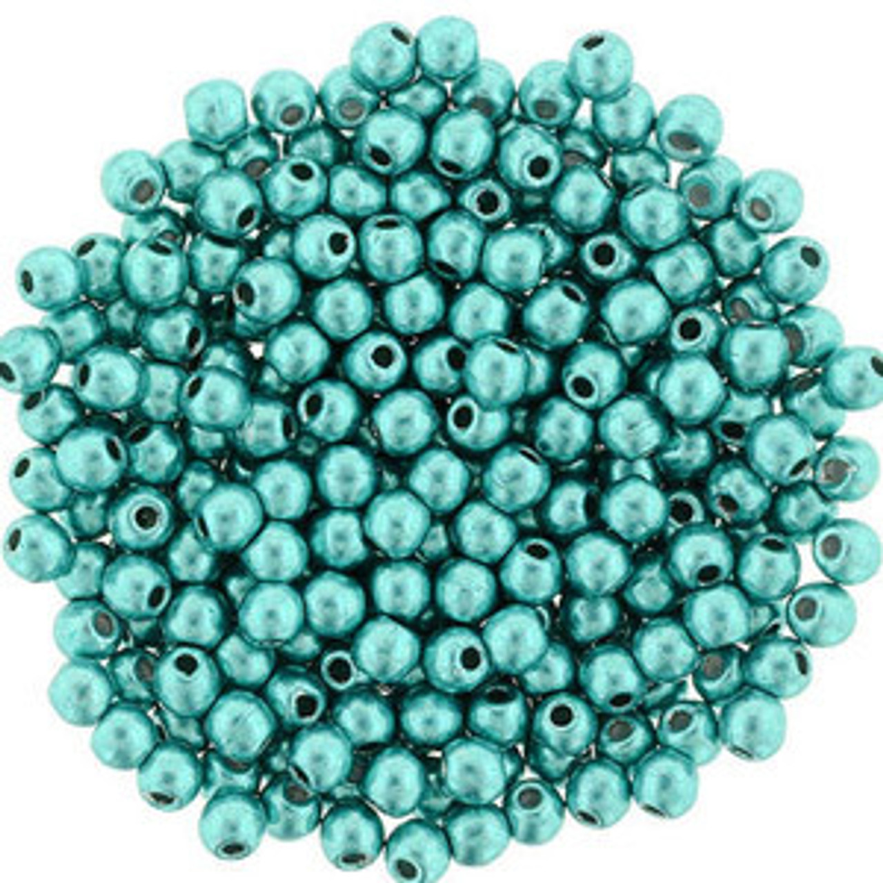 2mm Round Glass Beads (Druks)
