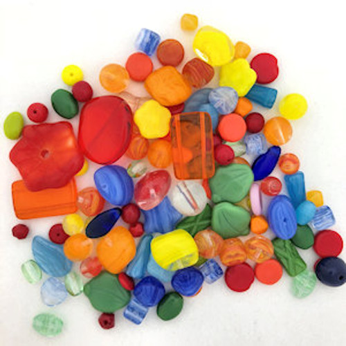 Glass Bead Mix, Summer Fun (60 gr.)