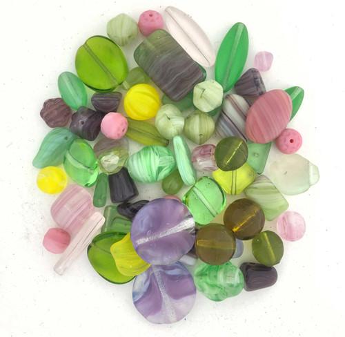 Glass Bead Mix, Spring Fling (60 gr.)