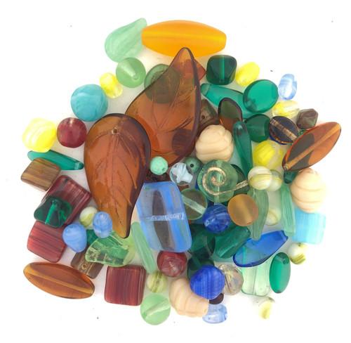 Glass Bead Mix, Rain Forest (60 gr.)