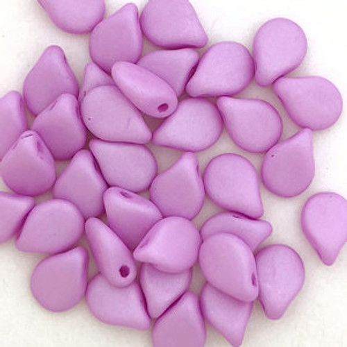 Pip Beads, Orchid Pink (7 x 5mm) (Qty. 35)