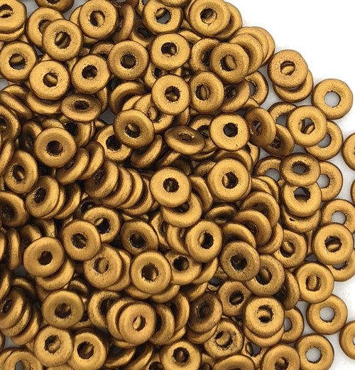O Beads, Brass Gold (10 gr.)