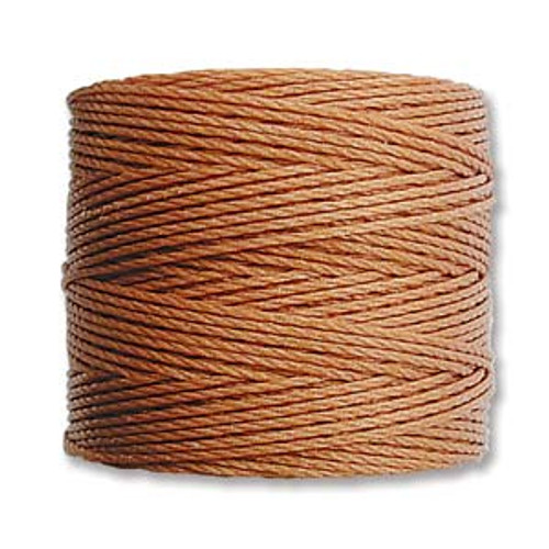 S-Lon Bead Cord, Copper (TEX 210, Medium Weight) (77 yd)