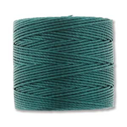 S-Lon Bead Cord, Green Blue (TEX 210, Medium Weight) (77 yd)