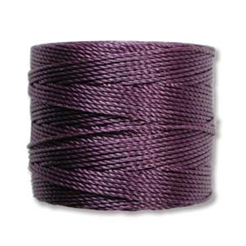 S-Lon Bead Cord, Medium Purple (TEX 210, Medium Weight) (77 yd)