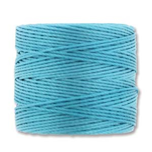 S-Lon Bead Cord, Nile Blue (TEX 210, Medium Weight) (77 yd)