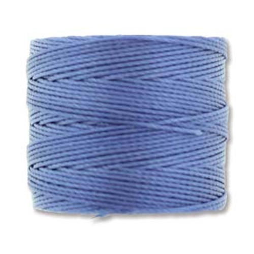 S-Lon Bead Cord, Periwinkle (TEX 210, Medium Weight) (77 yd)