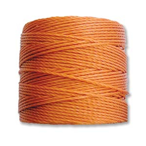 S-Lon Bead Cord, Rust (TEX 210, Medium Weight) (77 yd)