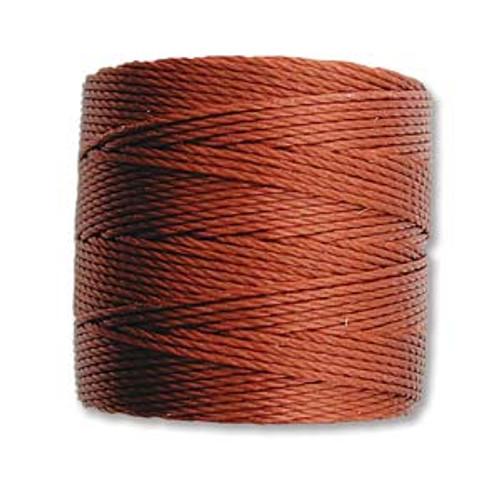 S-Lon Bead Cord, Sienna (TEX 210, Medium Weight) (77 yd)