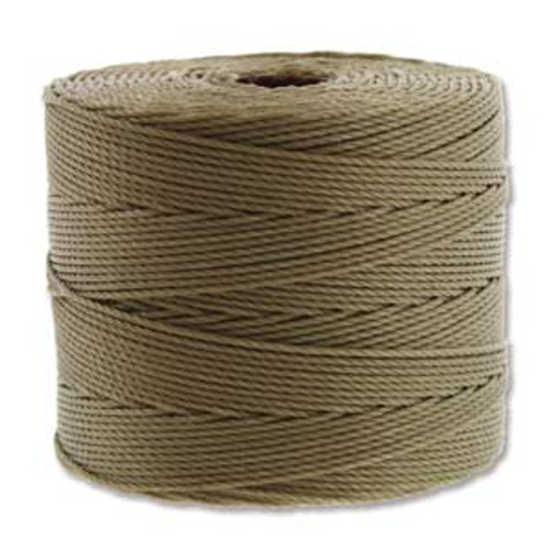 S-Lon Bead Cord, Khaki (TEX 135, Fine Weight) (118 yd)