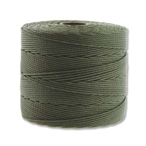 S-Lon Bead Cord, Olive (TEX 135, Fine Weight) (118 yd)