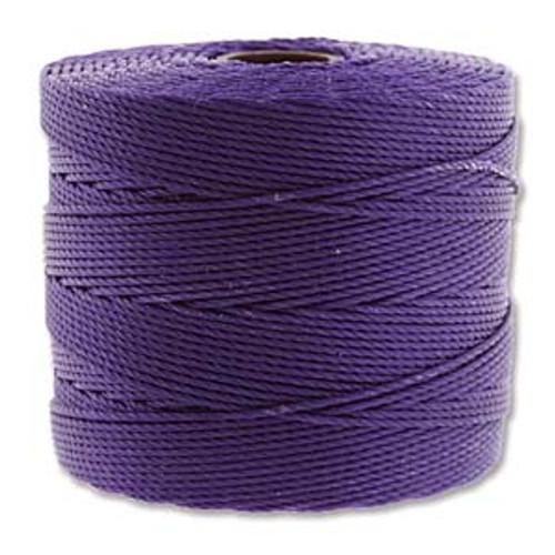 S-Lon Bead Cord, Purple (TEX 135, Fine Weight) (118 yd)