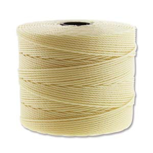 S-Lon Bead Cord, Pale Yellow (TEX 135, Fine Weight) (118 yd)