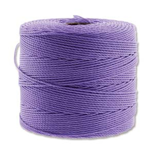 S-Lon Bead Cord, Violet  (TEX 135, Fine Weight) (118 yd)